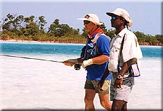 angling in the Bahamas